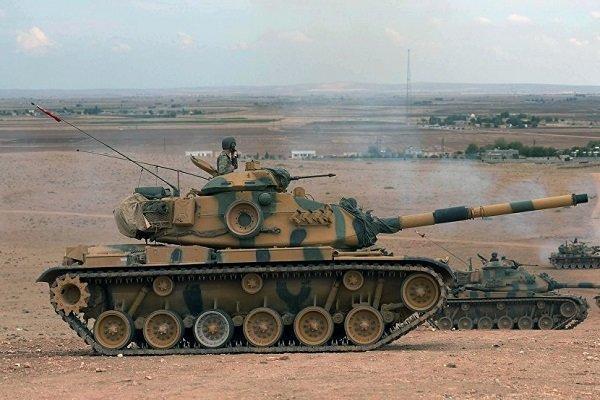 ترکیه خط مرزی میان سوریه و عراق را هدف قرار داده است