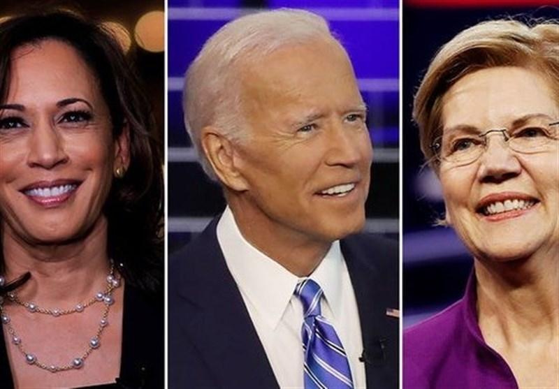 وارن و بایدن نامزدهای پیشتاز دموکراتها برای انتخابات 2020