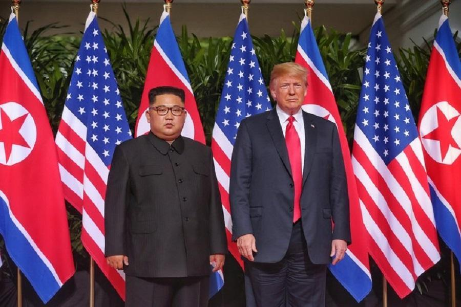 ترامپ: زمان و مکان دیدار با رهبر کره شمالی مشخص شده است