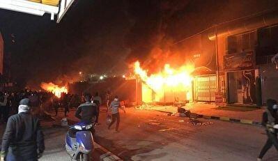 عامل آتش زدن کنسولگری ایران در نجف، عکس