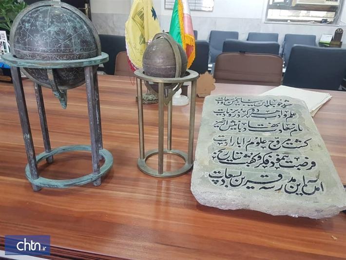 اشیای تاریخی مدرسه سعادت بوشهر آنالیز می گردد