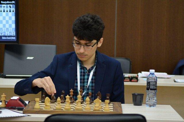 پیروزی فیروزجا مقابل شطرنج باز میزبان در رقابت های سوپرتورنمنت هلند