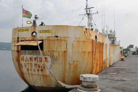 توقیف کشتی ماهیگیری غیرقانونی در آب های اندونزی