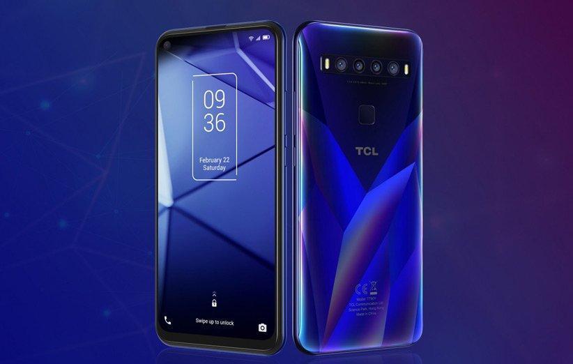شرکت TCL از سه گوشی جدید شامل یک گوشی 5G رونمایی کرد