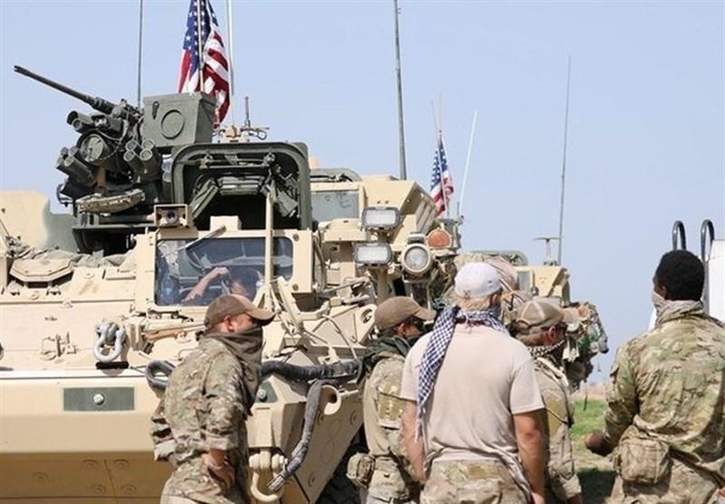 جزئیات خروج نظامیان آمریکایی از پایگاه خراب الجیر الحسکه سوریه