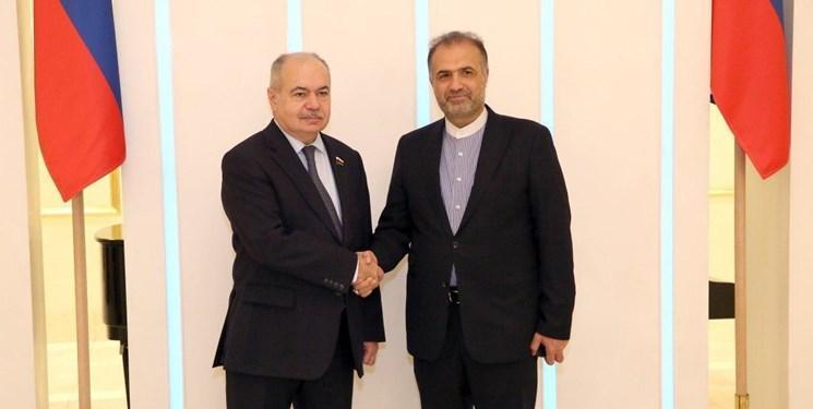 ملاقات جلالی با معاون رئیس شورای فدراسیون روسیه