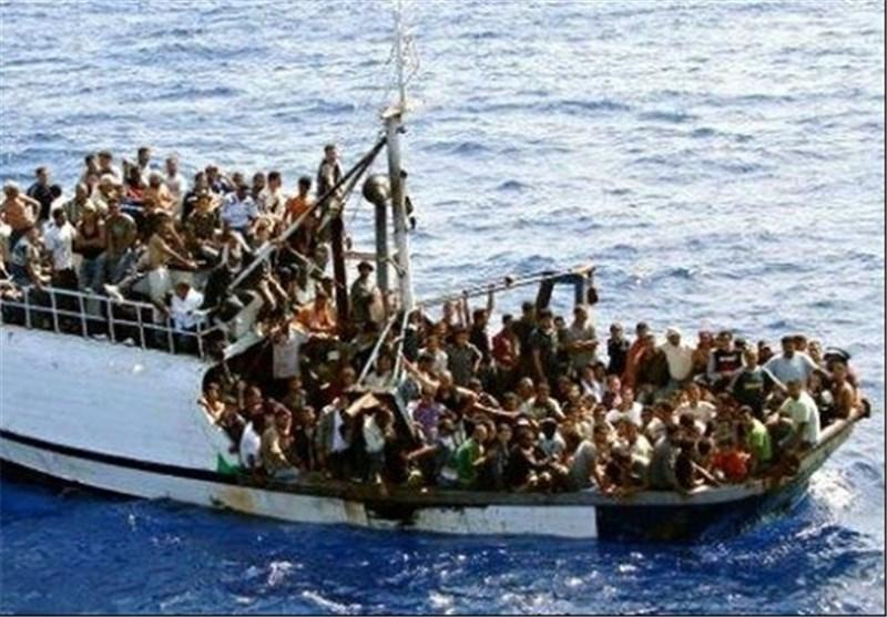 تلفات واژگونی قایق مهاجران در آب های ساحلی مصر به 194 نفر رسید