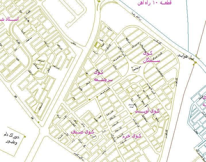 تاریخچه و نقشه جامع شهر سیرجان در ویکی خبرنگاران