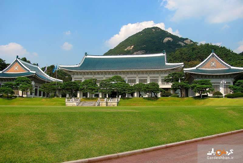 ساختمان آبی، اقامتگاه رئیس جمهور کره جنوبی، عکس