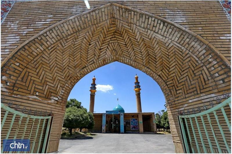 مرمت گنبد امام زاده دیزآباد در استان مرکزی با نظارت متخصصان انجام می گردد