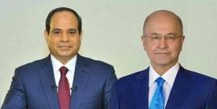 السیسی معین مصطفی الکاظمی برای نخست وزیری عراق را به صالح تبریک گفت