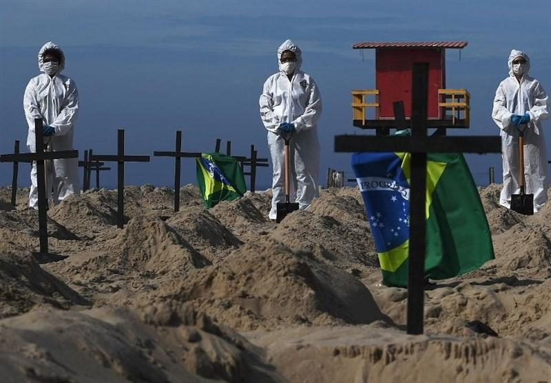 ابتلای بیش از 26 هزار نفر به کرونا در برزیل در یک روز