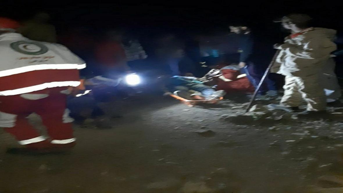 نجات کوهنورد مصدوم شده در ارتفاعات البرز