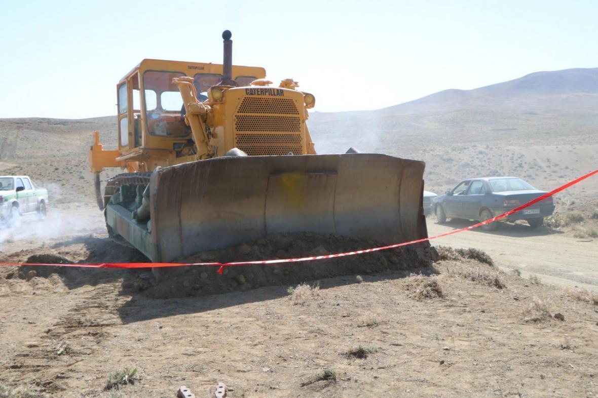 خبرنگاران راه ارتباطی بخش زاینده رود شهرستان سامان با اصفهان 18 کیلومتر کوتاه تر می گردد
