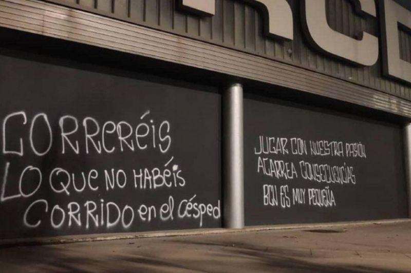 تهدید بازیکنان اسپانیول پیش از ملاقات مقابل رئال مادرید