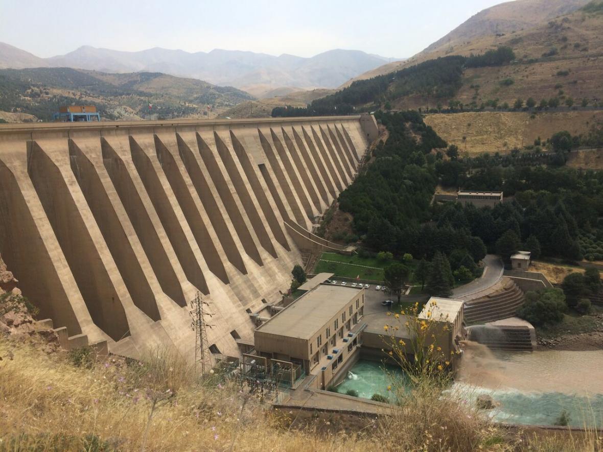 خبرنگاران مخازن سدهای تهران 100 میلیون متر مکعب کسری آب دارند