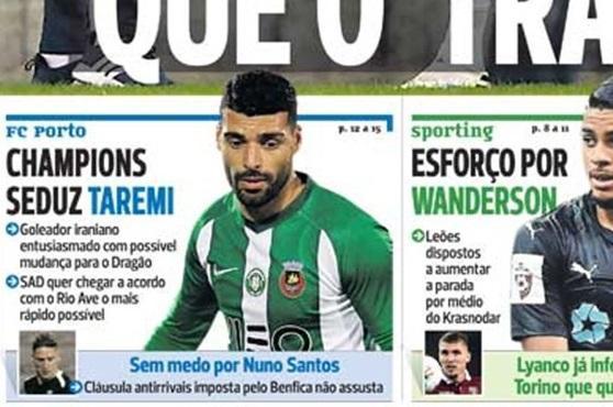 علاقه پورتو به جذب طارمی ، پورتو در لیگ قهرمانان اروپا حضور دارد