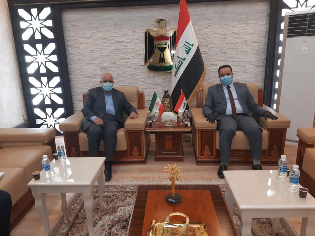 خبرنگاران تاکید ایران و عراق بر هدف گذاری تجارت 20 میلیارد دلاری