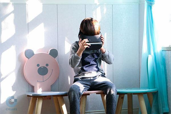برطرف تنبلی چشم بچه ها با عینک واقعیت مجازی
