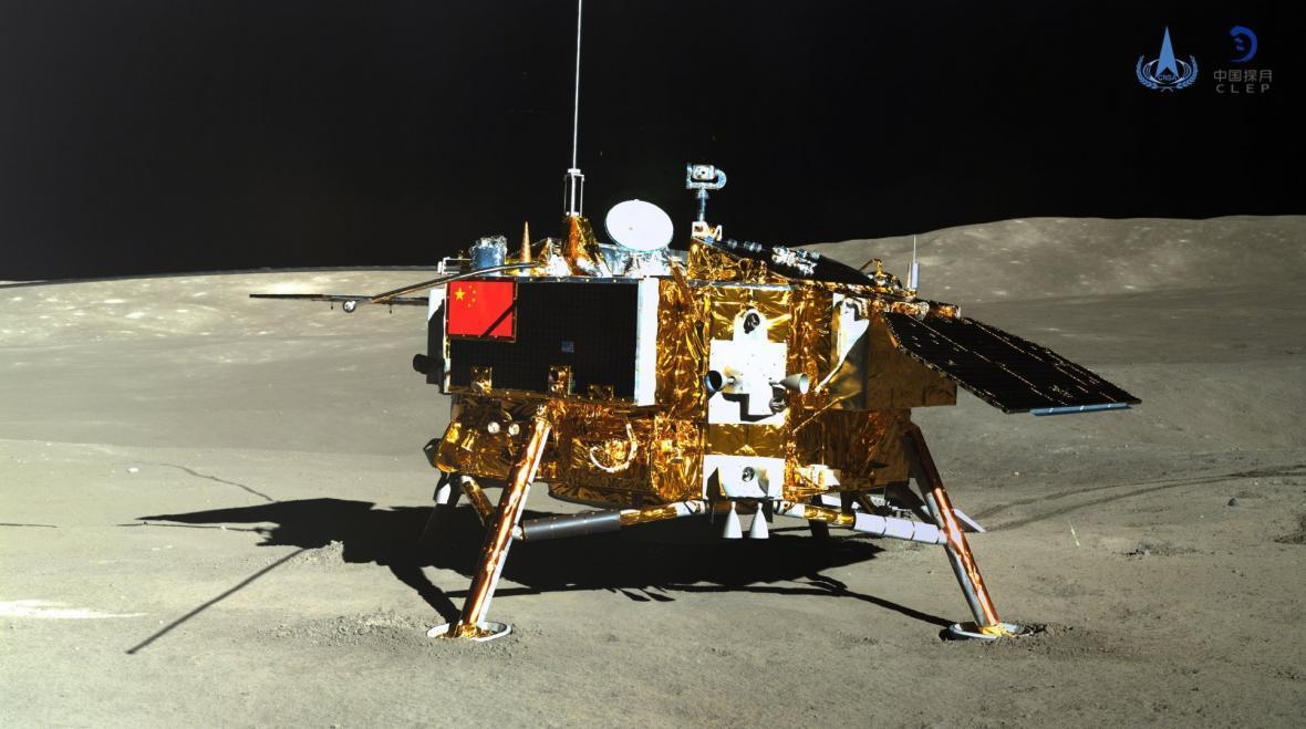 کاوشگر چینی فعالیت خود را در ماه از سر گرفت