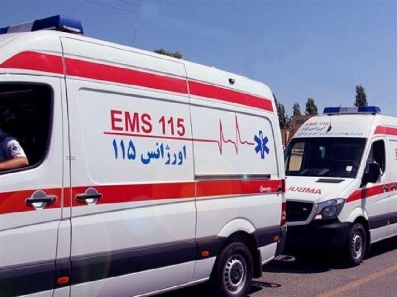 خبرنگاران وقوع 2 تصادف در اصفهان 14 مصدوم داشت