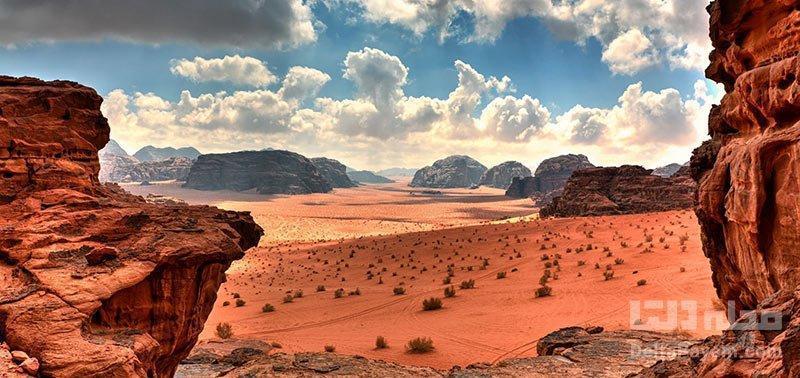 وادی روم اردن؛ مریخ روی زمین
