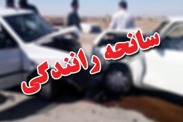 تصادف مرگبار سواری با کامیون در محور گناباد - بجستان