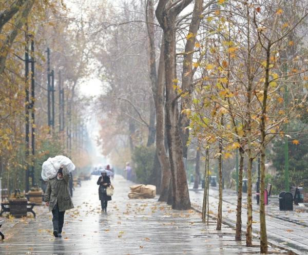 شروع بارش برف و باران در گیلان