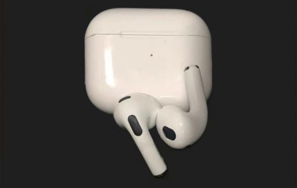 تصاویر و مشخصات فنی احتمالی نسل سوم ایرپادز اپل لو رفت