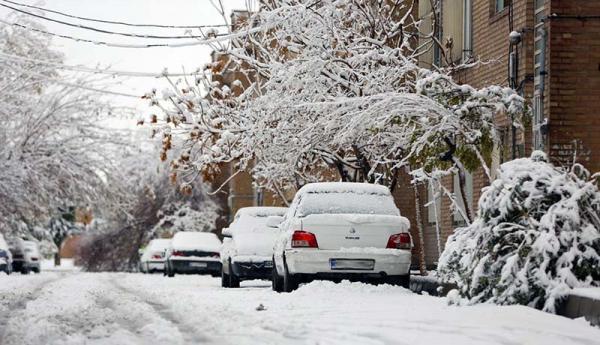هشدار بارش برف و باران در 16 استان