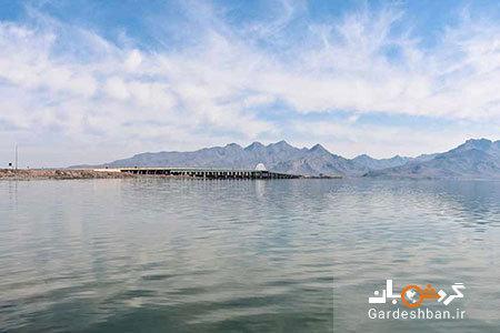 دریاچه پریشان؛بزرگ ترین دریاچه آب شیرین در کازرون، عکس