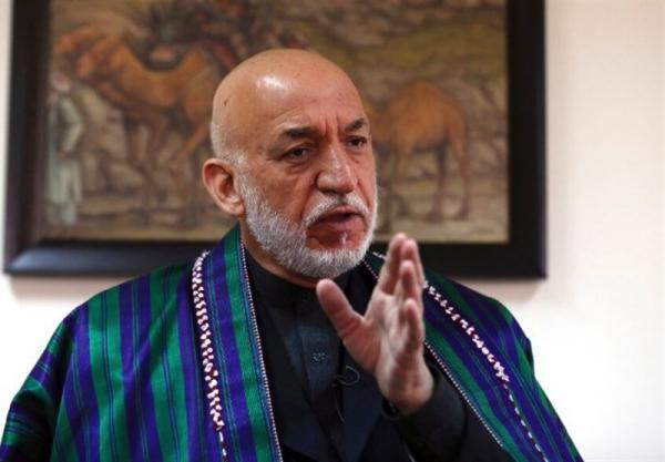 کرزی: دولت انتقالی زمینه ادغام طالبان را فراهم می نماید