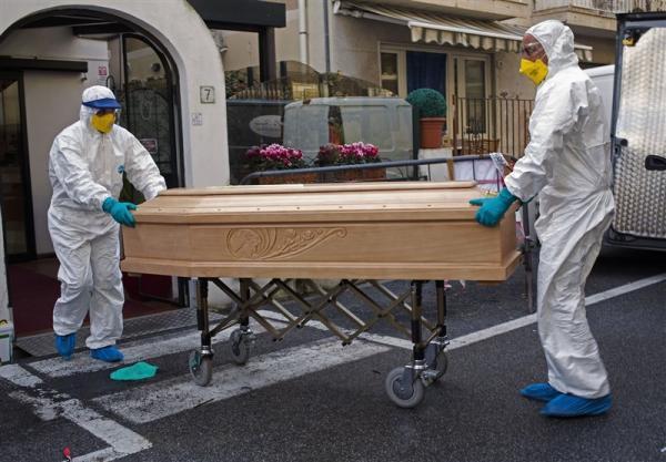 مرگ و میر در ایتالیا به طور قابل توجهی افزایش یافت