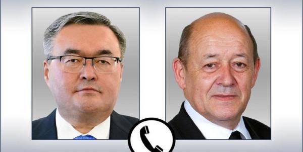 گفت وگوی وزاری خارجه قزاقستان و فرانسه؛ افغانستان محور مذاکرات