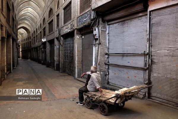 تمدید تعطیلی بازار تهران از فردا تا آخر هفته