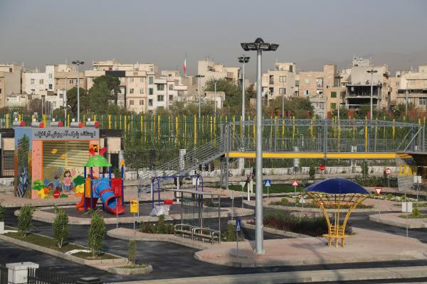 ساخت پارک آموزش ترافیک و پیست دوچرخه های هیجانی BMX در مرکز شهر تهران شروع شد