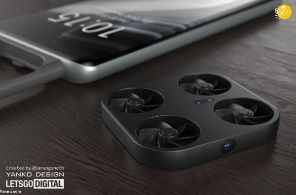 اولین تصاویر گوشی مجهز به پهپاد دوربین دار ویوو